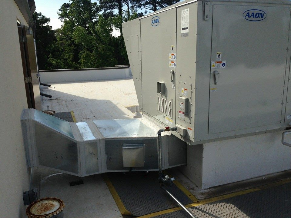 Aaon Ahu Hampton Dominion Air Amp Heat